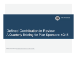 Janus 4Q15 Defined Contribution in Review