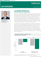 CIO Outlook: Flu Season, Prevention and Defensive Investing