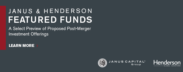 Janus & Henderson Featured Funds. Learn More.